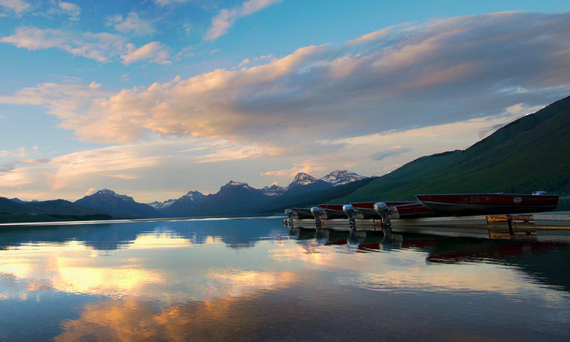 Sunset at GNP dock